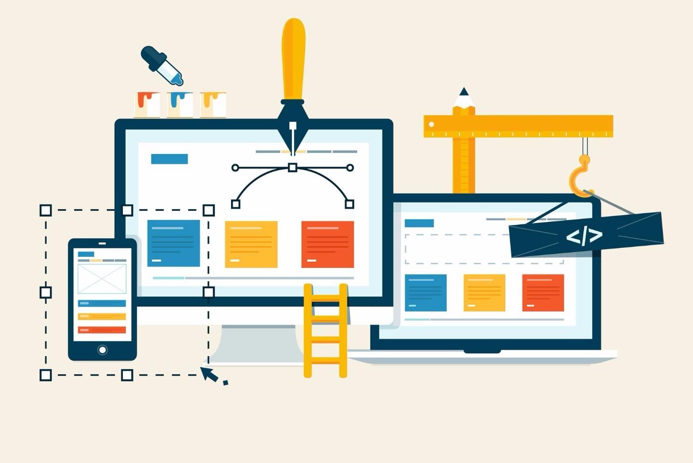 ما الفرق بين برمجة وتصميم المواقع ؟
